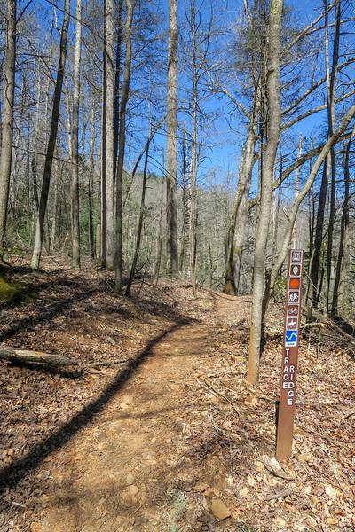 Trace Ridge Trail -- 2,270'