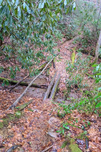 Twin Falls Trail -- 2,740'
