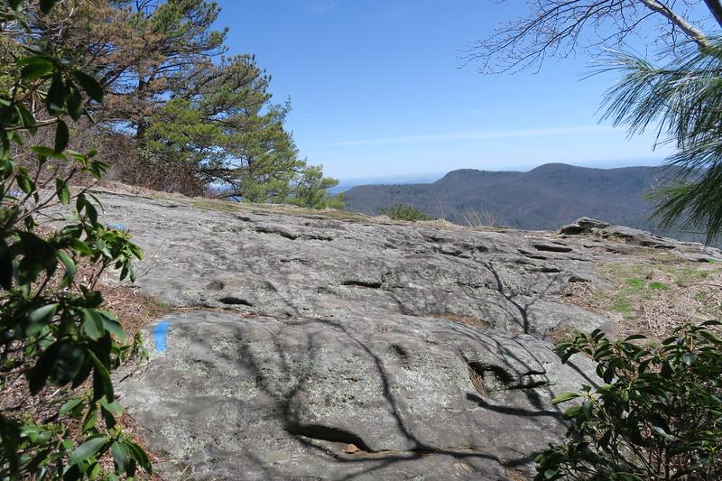Chimneytop Trail -- 4,618'