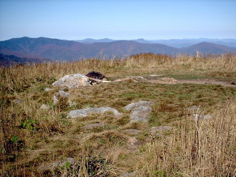 Black Balsam Knob Summit - 6,214'
