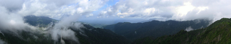 The sweeping panorama from the Bunion...