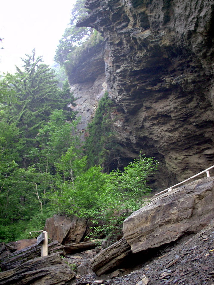 Alum Cave Bluffs - 5250'