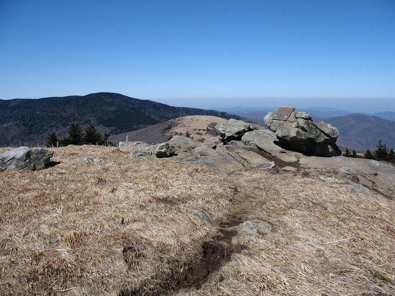 Grassy Ridge Bald Summit - 6,189'