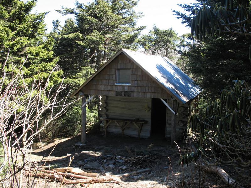 Roan High Knob Shelter - 6275'