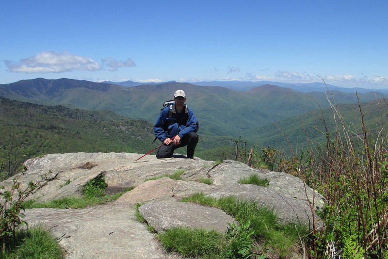 Sam Knob Summit (North Summit) - 6,050'