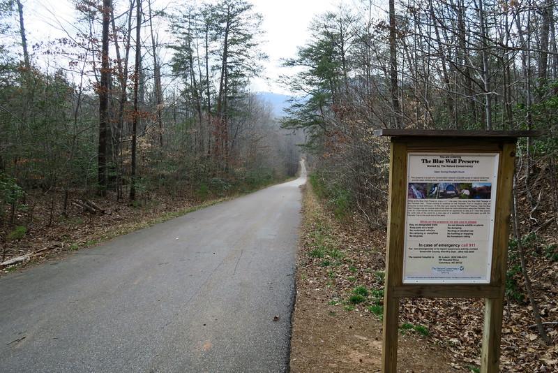 Blue Wall Preserve-Palmetto Trail Trailhead