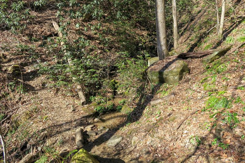 Dismal Trail -- 2,050'