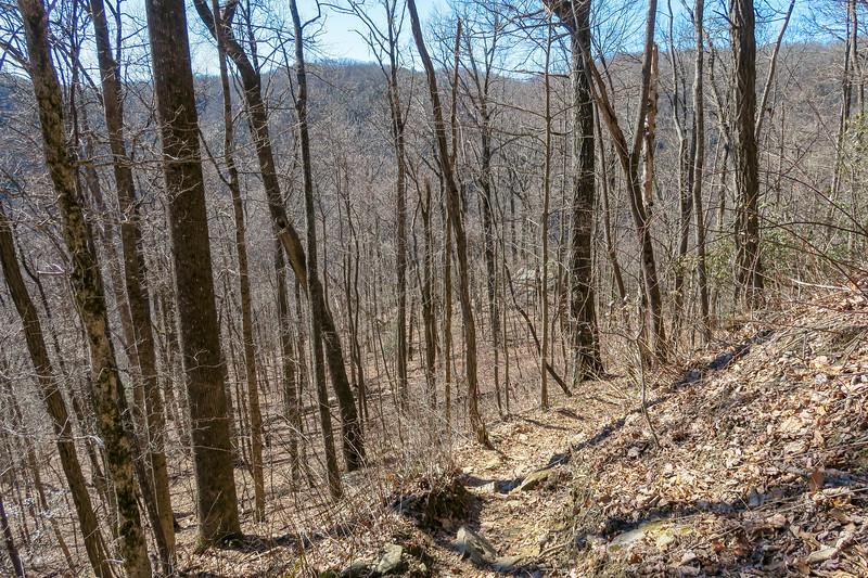 Dismal Trail -- 2,800'