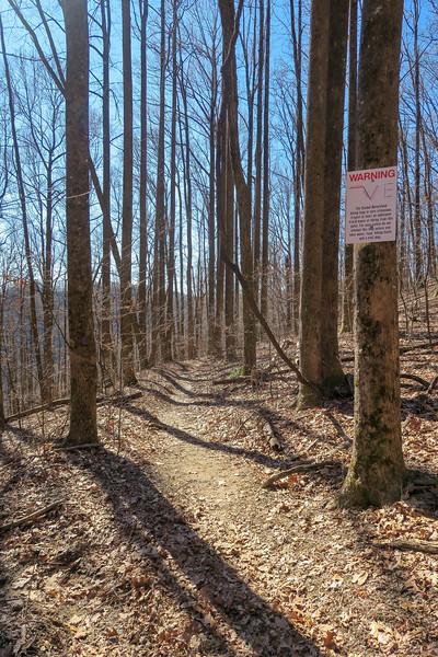 Dismal Trail -- 2,880'