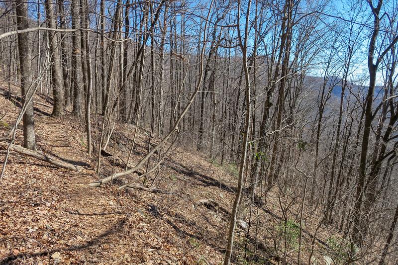 Dismal Trail -- 2,500'