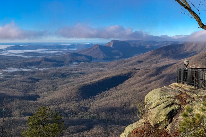 Caesars Head Overlook -- 3,208'