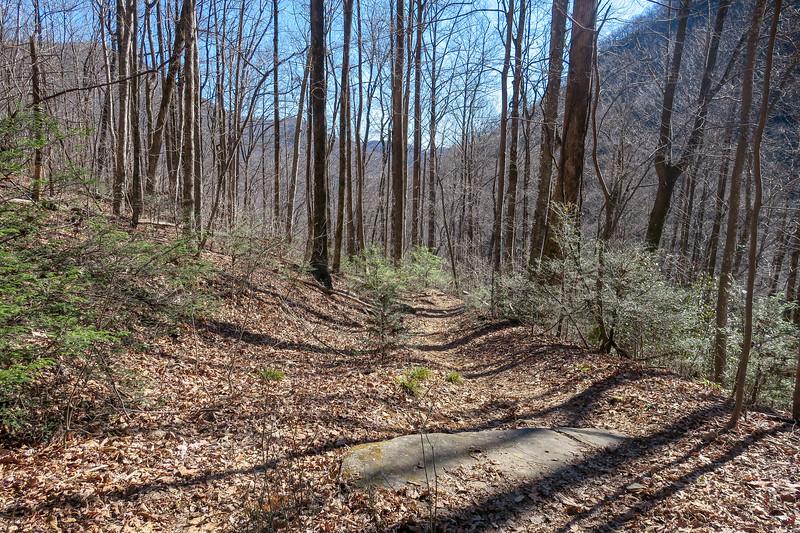 Dismal Trail -- 2,100'