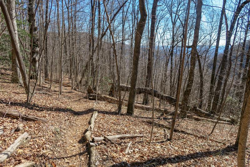 Dismal Trail -- 2,700'