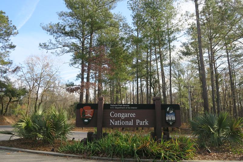 Congaree National Park Entrance