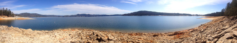 Lake Jocassee Panorama from along the Bear Cove Trail...