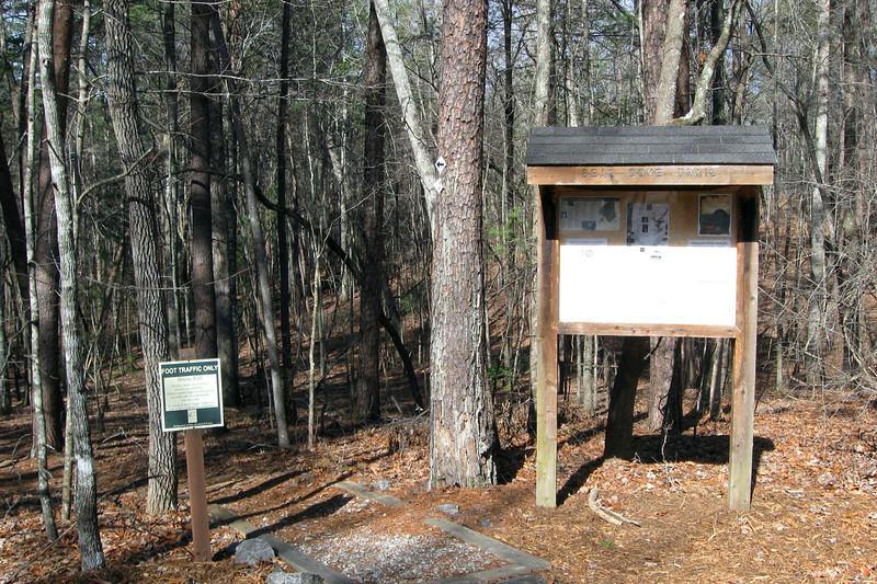 The Bear Cove Trailhead...