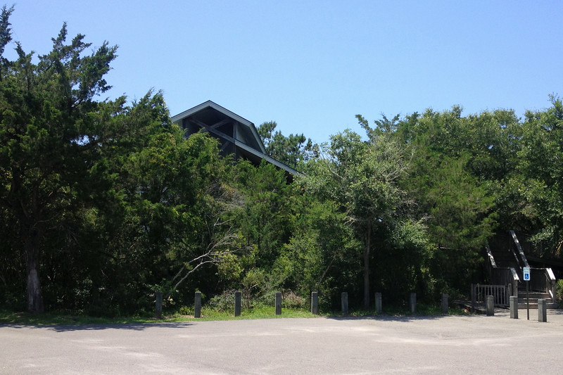 The start of my short hike would begin at the park nature center which is a nice place to get familiar with the ecology of the park...