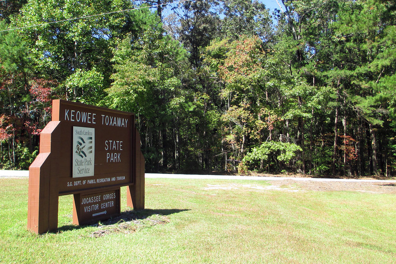 Keowee-Toxaway State Park Entrance