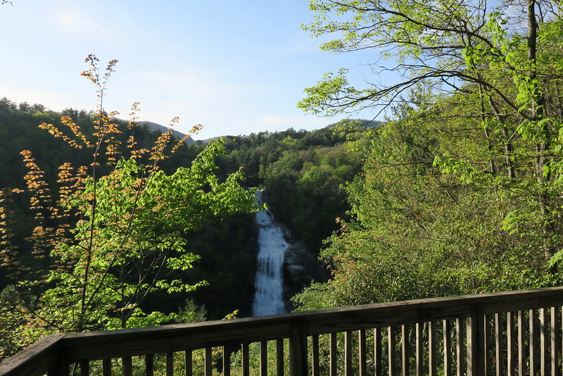 Lower Whitewater Falls Overlook