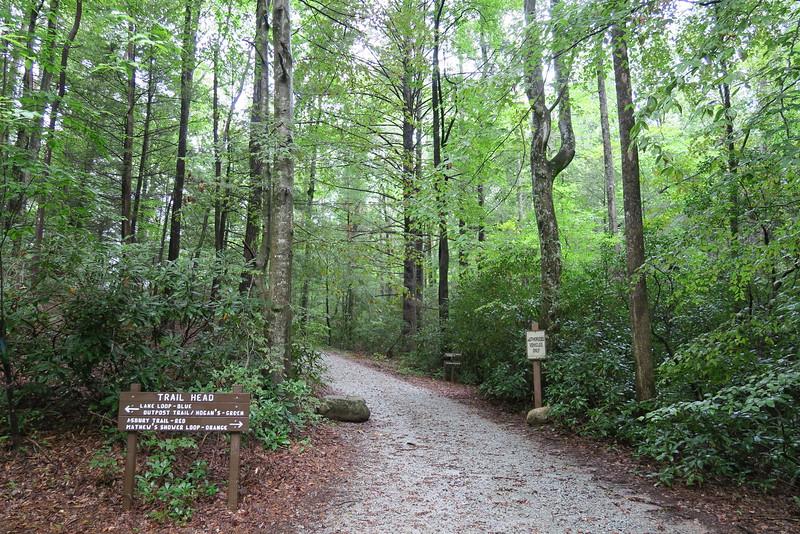 Asbury Hills Camp - Asbury Trailhead