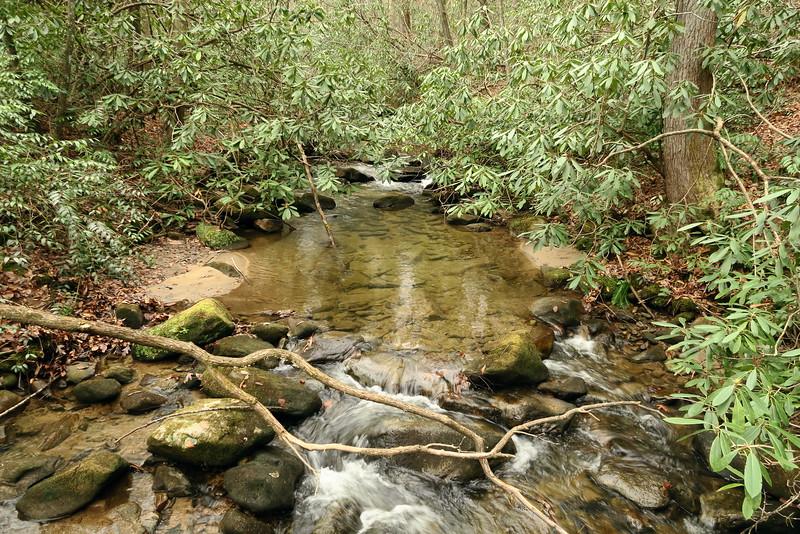 Middle Saluda River -- 1,980'