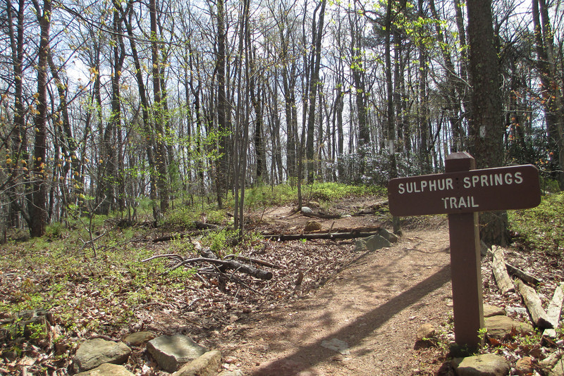 Sulphur Springs Upper Trailhead