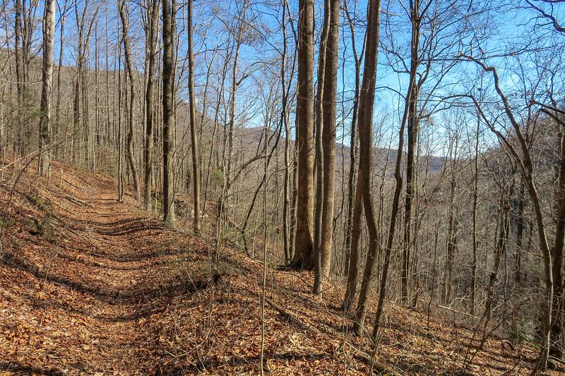 Dismal Trail -- 2,020'
