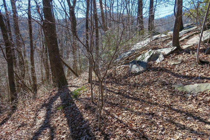 Dismal Trail -- 2,760'
