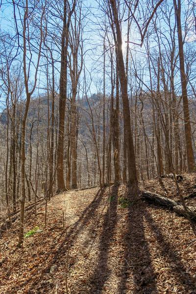 Dismal Trail -- 2,150'