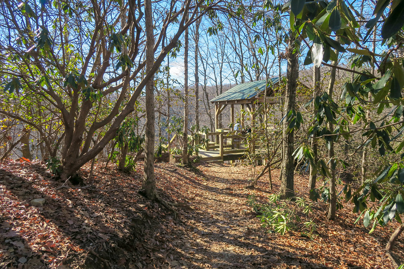 Raven Cliff Falls Trail -- 2,870'
