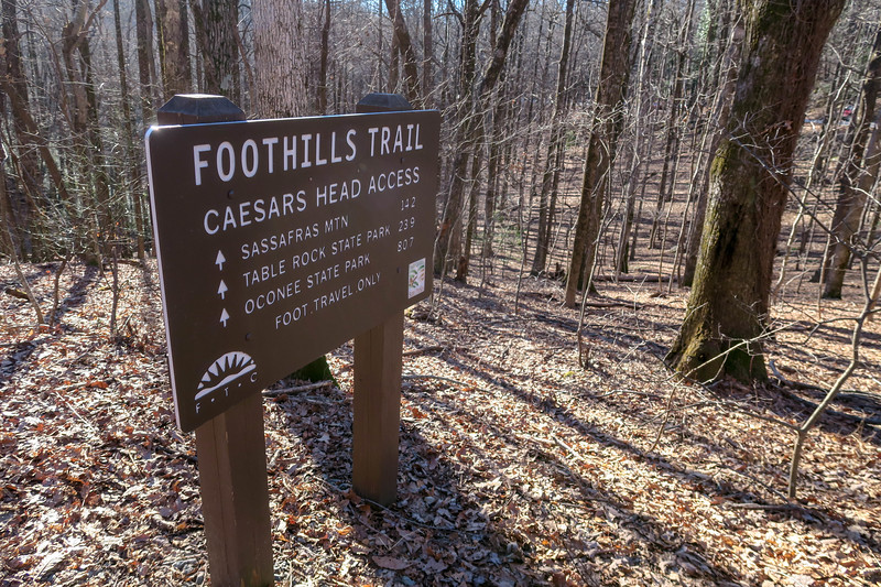 Raven Cliff Falls/Foothills Trail -- 3,050'