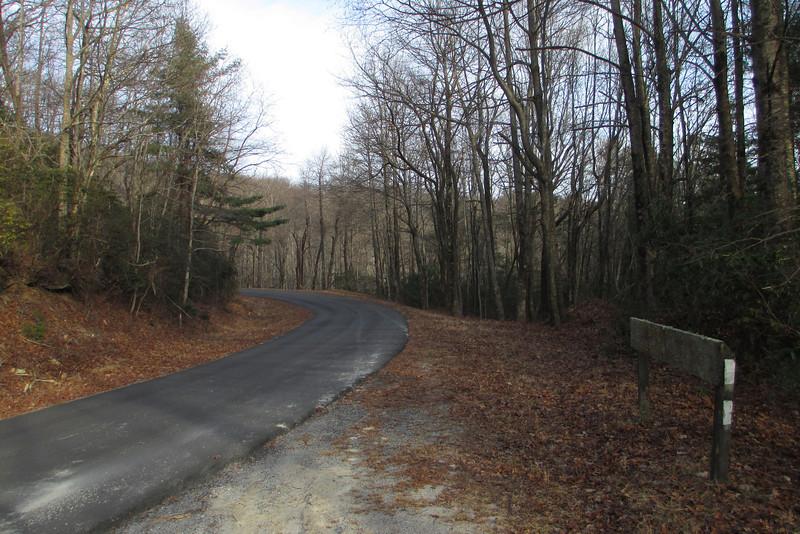 Foothills Trail @ Sassafras Mountain Road