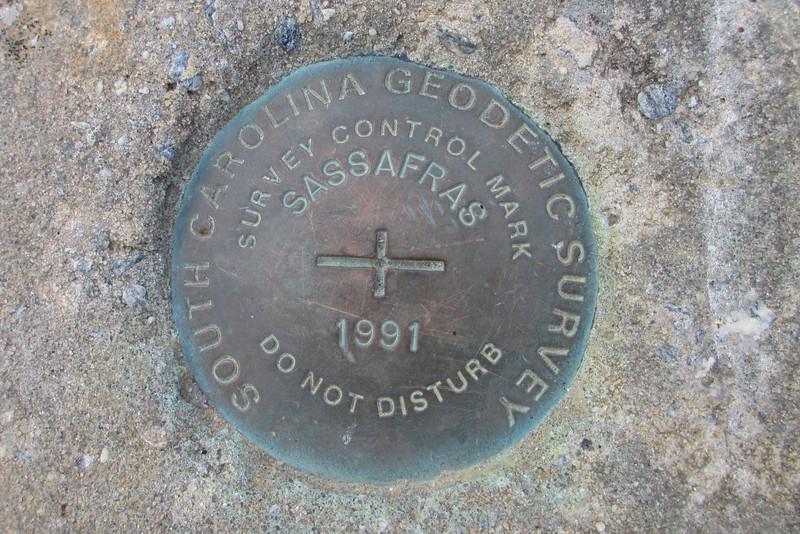 Sassafras Mountain -- 3,553'