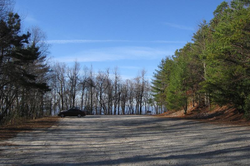 Sassafras Mountain Parking Lot