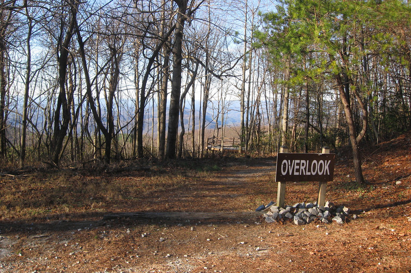 The guides I used didn't mention <i>this</i> overlook...what a nice surprise...