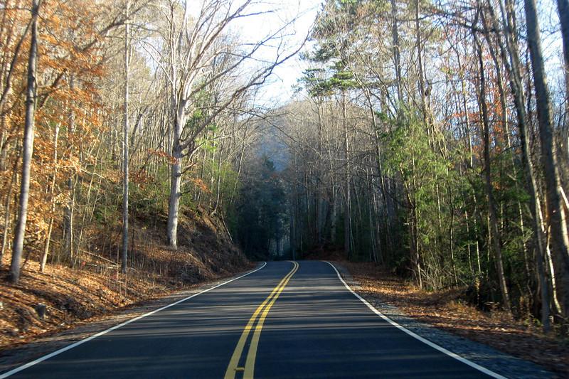 Heading up F. Van Clayton Memorial Highway... :)