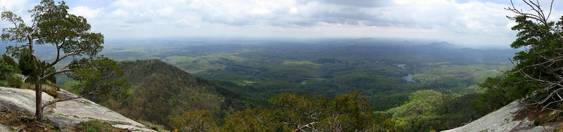 The jaw-dropping, mind numbing, awe inspiring view from the cliffs of Table Rock...just...<i>wow</i>...