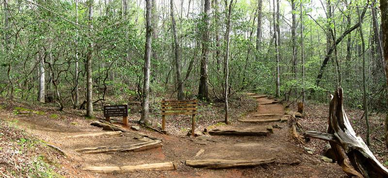 Table Rock-Pinnacle Mountain Trail Junction