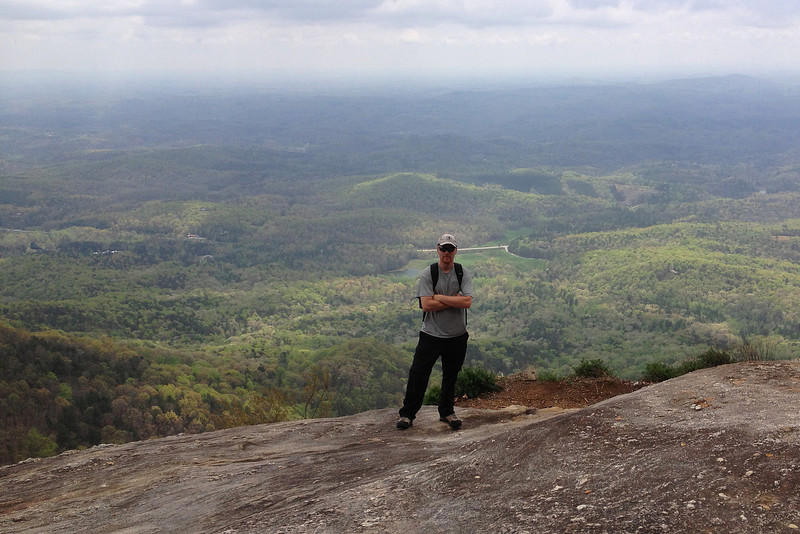 Yours truly...Table Rock summit cliffs...