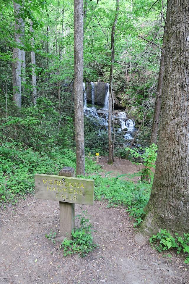 Virginia Hawkins Falls Trail - 1,750'