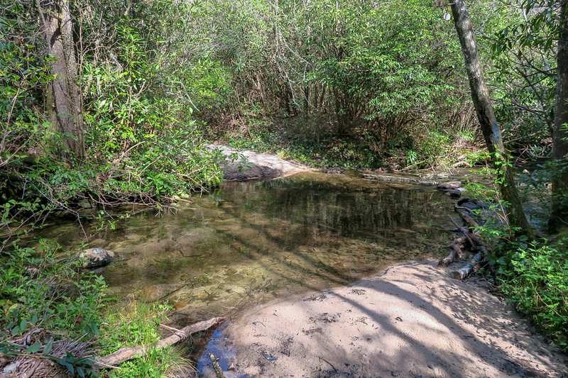 Foothills Trail Spur @ Matthews Creek -- 2,820'