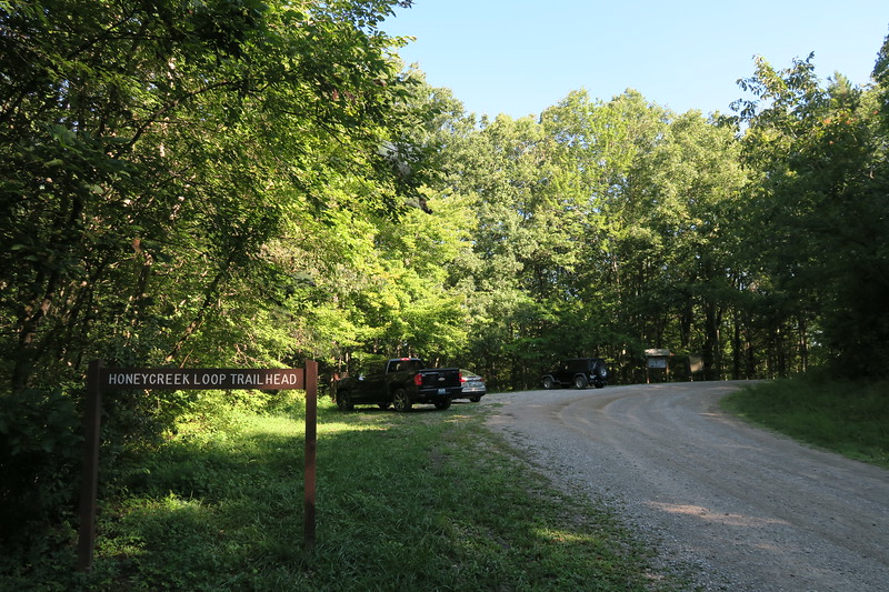 Honey Creek Loop Trailhead