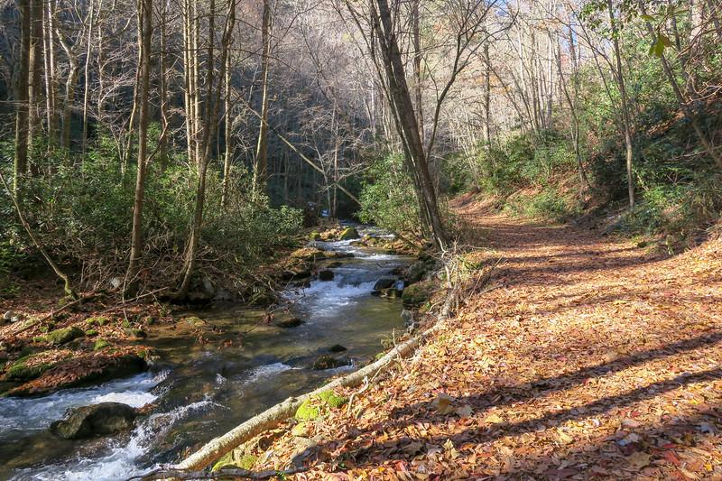 Rocky Fork Trail -- 2,480'