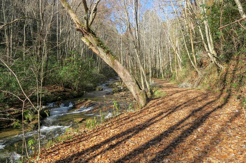 Rocky Fork Trail -- 2,420'