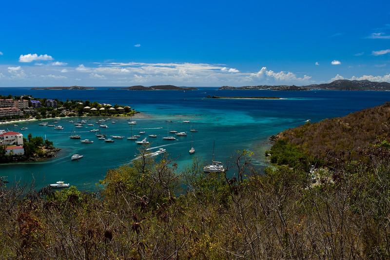 Cruz Bay Overlook (Hwy 20) -- 160'
