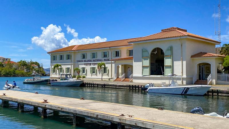 Virgin Islands National Park Visitor Center -- 0'