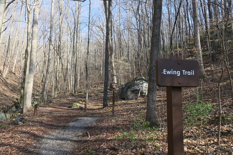 Ewing Trail - 1,620'