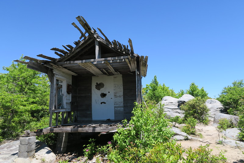 Hayter's Knob Lookout Cabin -- Middle Knob - 4,208'Middle Knob - 4,208'