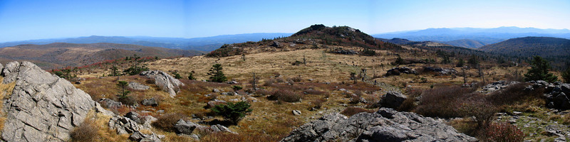 Wilburn Ridge/Appalachian Trail - 5,500'