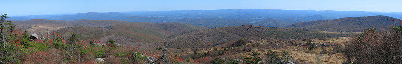 Wilburn Ridge/Appalachian Trail - 5,475'